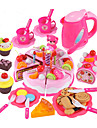 مجموعات لعبة مطبخ ألعاب الطعام لعب تمثيلي كعكة قاطعة كعكة وكوكي PVC للأطفال للصبيان للفتيات ألعاب هدية