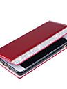 Назначение iPhone 8 iPhone 8 Plus Чехлы панели Бумажник для карт Кошелек Стразы Чехол Кейс для Сплошной цвет Твердый Искусственная кожа