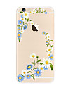 For Beautiful Pattern Case Flower Soft TPU for Apple iPhone 7 Plus  7 iPhone 6 Plus 6 iPhone 5 SE 5C iphone 4