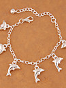 Women\'s Charm Bracelet - Animal Fashion Bracelet Silver For Party