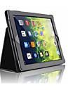 Pour Avec Support Magnetique Coque Coque Integrale Coque Couleur Pleine Dur Cuir PU pour AppleiPad (2017) iPad Pro 9.7 \'\' iPad Air 2 iPad