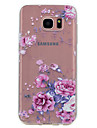 For Samsung Galaxy S8 Plus S8 Case Cover Transparent Pattern Back Cover Case Flower Soft TPU for S7 edge S7 S6 edge S6 S5 Mini S5