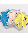 Dog Vest Dog Clothes Cute Casual/Daily Cartoon Yellow Blue Blushing Pink