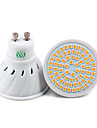 YWXLight® 1pc GU10 72LED 7W 2835SMD 500-700Lm Warm White Cool White Natural White LED Spotlight (AC 110V/ AC 220V)