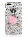 For DIY Case Back Cover Case Glitter Shine Hard PC for Apple iPhone 7 Plus iPhone 7 iPhone 6s Plus iPhone 6 Plus iPhone 6s iPhone 6