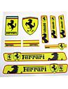 Auto Sticker Decal Emblem Badge PVC Bumper For Ferrari