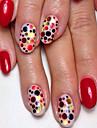 1bottle fashion mixed glitter colore nail art brillance ronde paillette tranche laser ongle art beaute ronde coupe decoration p3