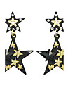 Women\'s Drop Earrings Basic Costume Jewelry Alloy Star Jewelry For Casual