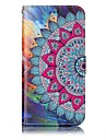 Case For LG Card Holder Wallet with Stand Flip Magnetic Pattern Embossed Full Body Cases Mandala Hard PU Leather for LG G6