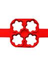 выпечке Mold Цветы Пироги Силикон Антипригарное покрытие