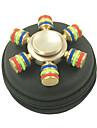 Toupies Fidget Spinner a main Jouets Six Spinner Metal EDCSoulagement de stress et l\'anxiete Jouets de bureau Soulage ADD, TDAH, Anxiete,