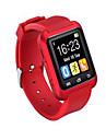 Homme Montre de Sport Smart Watch Montre Bracelet Numerique LED Telecommande Silikon Bande Charme Noir Blanc Rouge