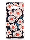 For Samsung Galaxy A7 A5 Case Cover Pattern Back Cover Case Flower Soft TPU