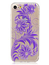 For Apple iPhone 7 7 Plus 6S 6 Plus SE 5S 5 Case Cover Pteris Pattern HD Painted High Penetration TPU Material Soft Case Phone Case