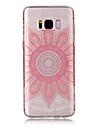 Capinha Para Samsung Galaxy S8 Plus S8 IMD Transparente Estampada Capa Traseira Mandala Macia TPU para S8 S8 Plus S7 edge S7 S6 edge S6 S5