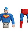 Novo cartoon criativo superman usb 2.0 8gb flash drive u memory stick disco