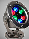 6W Underwater Lights Rechargeable RGB DC 12V