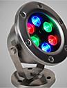 1pcs 6w rgb ip68 dc12v подводное освещение наружного освещения высокого качества 720lm