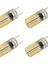 3W LED a Double Broches T 64 SMD 3014 260 lm Blanc Chaud Blanc Froid K V