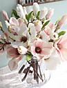 Fiori Artificiali 1 Ramo Stile europeo Magnolia Fiori da tavolo
