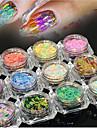 Пайетки Классика Высокое качество Повседневные Дизайн ногтей