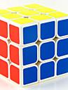 קוביית קסם קיוב IQ MoYu 3*3*3 קיוב מהיר חלקות קוביות קסמים מקל מתחים צעצוע חינוכי קוביית פאזל מדבקה חלקה צעצועים יוניסקס מתנות
