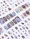 12 Nagelkunst sticker make-up Cosmetische Nagelkunst ontwerp