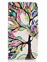 For Huawei P10 Plus P10 Lite Card Holder Wallet with Stand Flip Pattern Case Full Body Case Tree Hard PU Leather