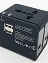 폭스 바겐 eec - 148ue 다기능 여행 소켓 2 포트 USB와 3.1a