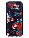 For Samsung Galaxy S8 S8 Plus Case Cover Flower Pattern Painted Feel TPU Soft Case Phone Case S7 Edge S7