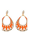 Women\'s Drop Earrings Dangling Style Bohemian Arylic Alloy Jewelry Party Daily Casual Stage 1 pair