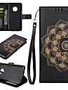 Case for Motorola Moto G4 Play G5 Plus The Mandala Pattern PU Leather Cases