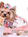 Dog Jumpsuit Dog Clothes Keep Warm Princess Costume For Pets