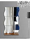 Shapes Abstract 3D Wall Stickers Plane Wall Stickers 3D Wall Stickers Mirror Wall Stickers Decorative Wall Stickers 3D,Acrylic Home