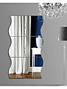 Геометрия абстракция 3D Наклейки Простые наклейки 3D наклейки Зеркальные стикеры Декоративные наклейки на стены 3D,Акрил Украшение дома