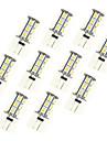2.5W G4 Двухштырьковые LED лампы 18 SMD 5050 198 lm Тёплый белый Белый 3000-3500/6000-6500 К DC 12 V