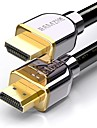 HDMI 2.0 케이블, HDMI 2.0 to HDMI 2.0 케이블 Male - Male 4K*2K 금도금 구리 2.0M (6.5Ft)