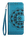 Case for Huawei Mate 9 Y6 II Card Holder Wallet Flip Embossed Pattern Phone Case Mandala Flower PU Leather for Huawei Y5 II