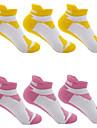 גרביים יוניסקס כושר, ריצה ויוגה ספורט עבור ריצה יחידה 1 ספורט כל העונות פשוט כותנה Chinlon / סטרצ\'י (נמתח)