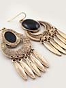 Women\'s Drop Earrings Dangling Style Pendant Tassel Circle Rock Oversized Hypoallergenic Costume Jewelry Multi-ways Wear Euramerican