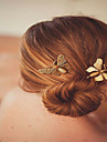 Europe and the United States foreign trade fashion hair accessories Contracted Korea headgear Metal butterfly lady\'s joker hairpin clip A0149-150