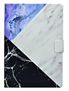 Case For Apple iPad Mini 3/2/1 iPad 4/3/2 iPad Air 2 iPad Air Card Holder with Stand Pattern Full Body Cases Marble Hard PU Leather for