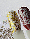 # Nail Sticker Flower Nail Decals Flowers Nail Art Design