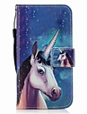 Case For Samsung Galaxy J7 (2017) J3 (2017) Card Holder Wallet Flip Magnetic Pattern Full Body Cases Unicorn Hard PU Leather for J7 V J7
