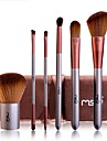 1set Makeup Brush Set Synthetic Hair Easy to Use Easy Carrying Easy to Carry Wood Men Face Men and Women Nursing Eyes Lips Lip