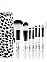 1set Makeup Brush Set Synthetic Hair Cute Easy Carrying Easy to Carry Wood Men Face Men and Women Eyes Lips Lip Health&Beauty General use