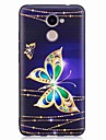 Case for Huawei P10 Lite P10 Cover Embossed Pattern Back Cover Case Butterfly Soft TPU for Huawei P9 Lite P8 Lite(2017) Honor 6X Y5 II