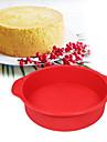 Формы для пирожных Круглый Повседневное использование силикагель Инструмент выпечки