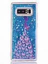 Кейс для Назначение SSamsung Galaxy Note 8 Note 5 Движущаяся жидкость С узором Кейс на заднюю панель Соблазнительная девушка Твердый ПК