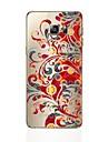 Кейс для Назначение SSamsung Galaxy S8 Plus S8 Прозрачный С узором Кейс на заднюю панель Цветы Мягкий ТПУ для S8 Plus S8 S7 edge S7 S6